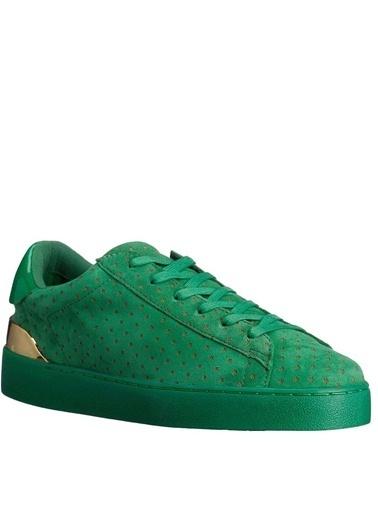 Nine West %100 Süet Lifestyle Ayakkabı Yeşil